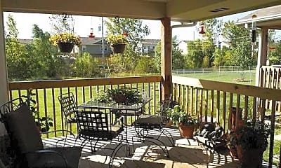 Patio / Deck, West Indian Hills Townhomes, 1
