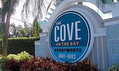 Community Signage, The Cove Apartment Homes, 1