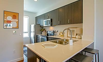 Kitchen, 17th Place Townhomes, 1