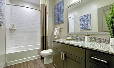 Bathroom, The Sawyer at One Bellevue Place, 2