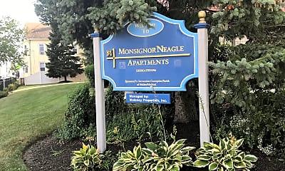 Monsignor Neagle Apartments, 1