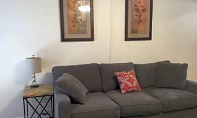 Living Room, 3717 Boundary St, 1