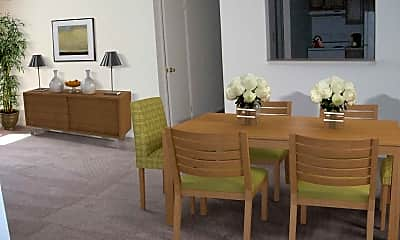 Dining Room, Pinewood Apartments, 1