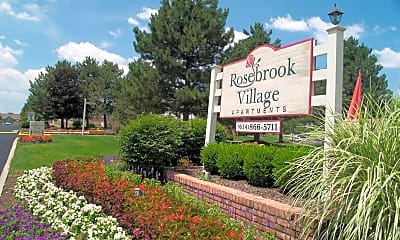 Community Signage, Rosebrook Village, 2