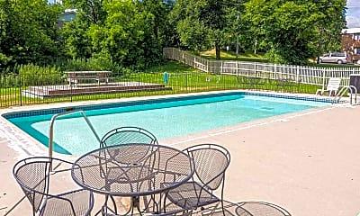 Pool, Park West Apartments, 1