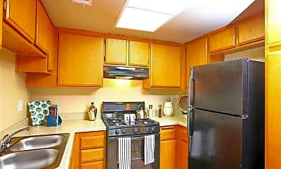 Kitchen, Tesoro Apartments, 0