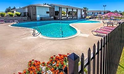Pool, Oakbrook Village Apartments, 0