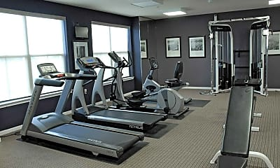 Fitness Weight Room, Kings Landing, 1