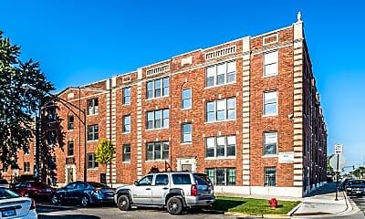 Building, 330 Pine Apartments, 1