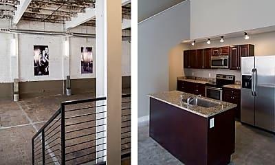 Kitchen, Annex Lofts - Memphis Downtown Lofts, 0