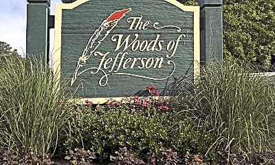 Community Signage, Woods Of Jefferson, 2