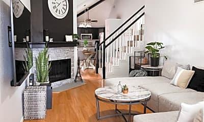 Living Room, 1701 Highgate Pl, 1