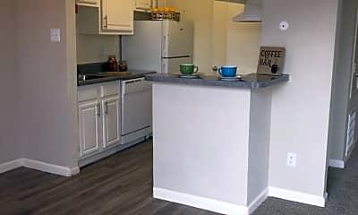 Kitchen, Savannah Apartments, 1