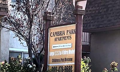 Cambria Park Apartments, 1