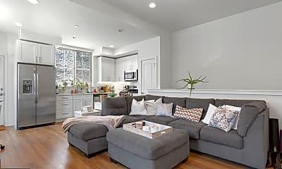Living Room, 1356 S Bouvier St A, 0