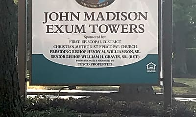 John Madison Exum Towers, 1