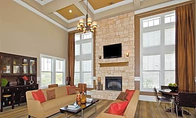 Living Room, Woodmont Apartment Homes, 2