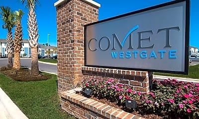 Community Signage, Comet Westgate, 2