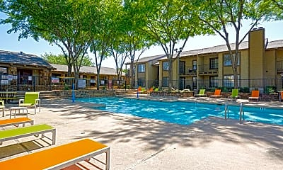 Pool, Copper Canyon Apartments, 0