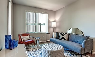 Living Room, Gateway Station Apartments, 0