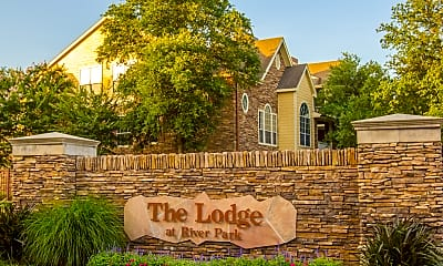 Community Signage, The Lodge at River Park, 1