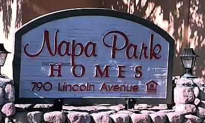 Napa Park Homes, 1