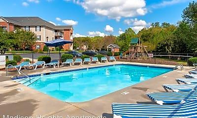 Pool, 2275 N Fayetteville St, 2