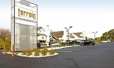 Community Signage, Terrain, 2