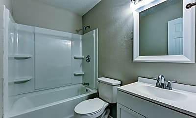 Bathroom, Oasis Apartments, 2