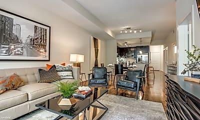 Living Room, 5006 Crawford St, 1
