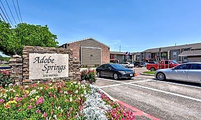 Community Signage, Adobe Springs, 2