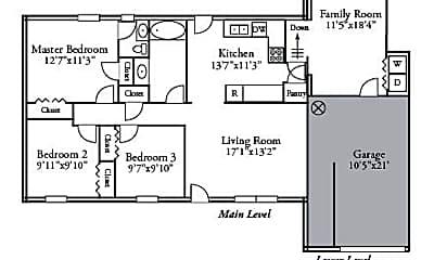 Building, 4321 Santa Barbara, 1