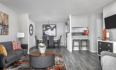 Living Room, The Pointe At Canyon Ridge, 1
