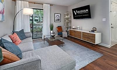 Living Room, Veridian at Sandy Springs, 1