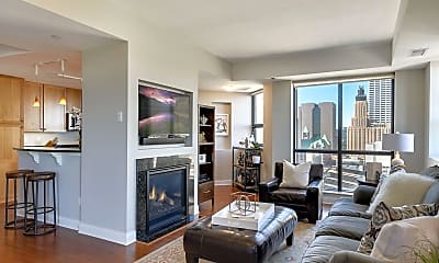 Living Room, 100 3rd Ave S 1605, 0
