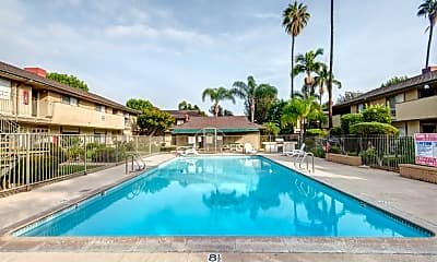Pool, Park Village, 1