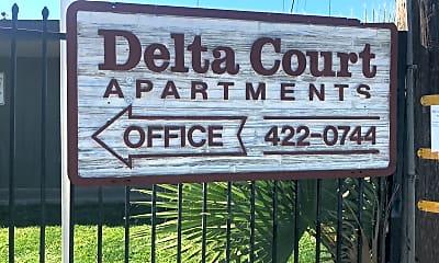 Delta Court, 1