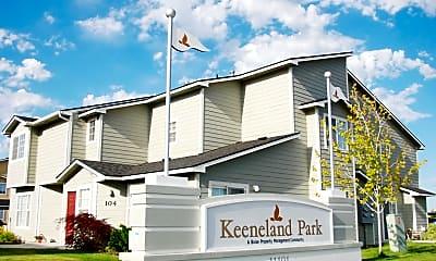 Community Signage, Keeneland Park, 0