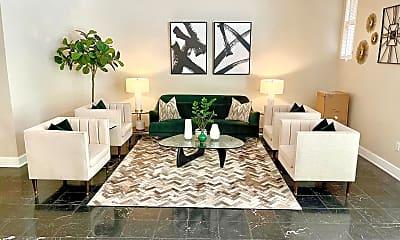 Living Room, 1727 Massachusetts Ave NW 514, 2