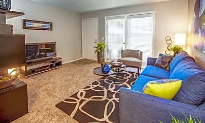 Living Room, Verde Apartments, 1