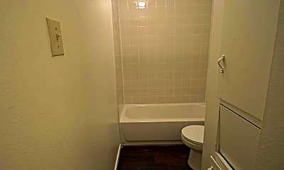 Bathroom, Chevy Chase Apartments, 2