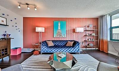 Living Room, west77, 2