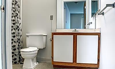 Bathroom, Carrollton Village Senior Citizens Apartments, 2