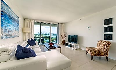 Living Room, 1500 Bay Rd 516S, 1