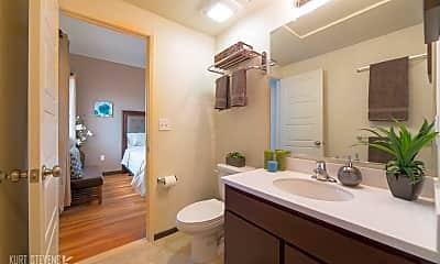 Bathroom, Wakea Garden Apartments, 1