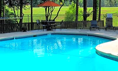 Pool, Towne Oaks, 1