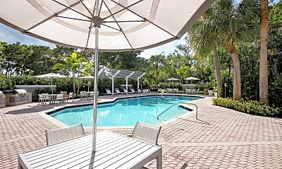 Pool, Addison Place Apartments, 1
