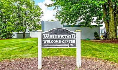 Community Signage, Whitewood Apartments, 2