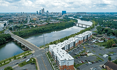 birds eye view of property, Riverview Apartments, 0