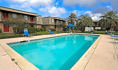 Pool, Chateau Nederland Apartments, 0